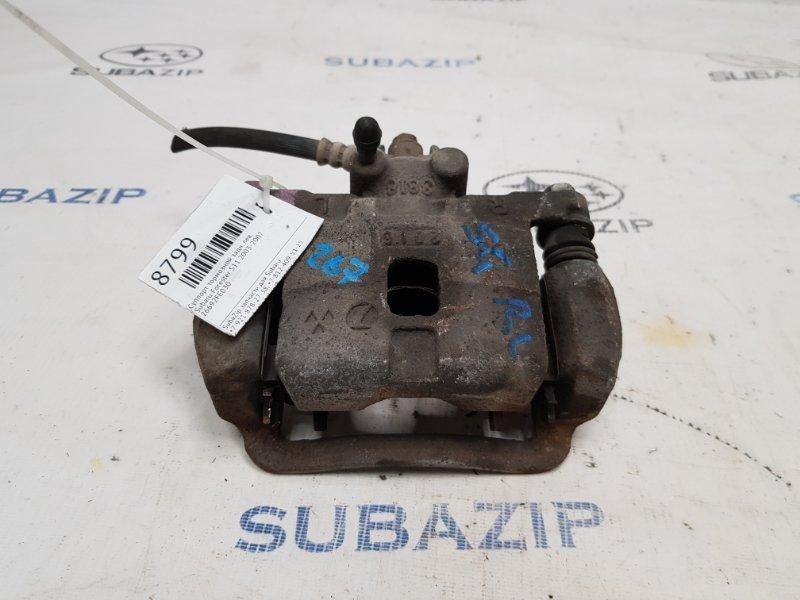 Суппорт тормозной Subaru Forester S11 2003 задний левый