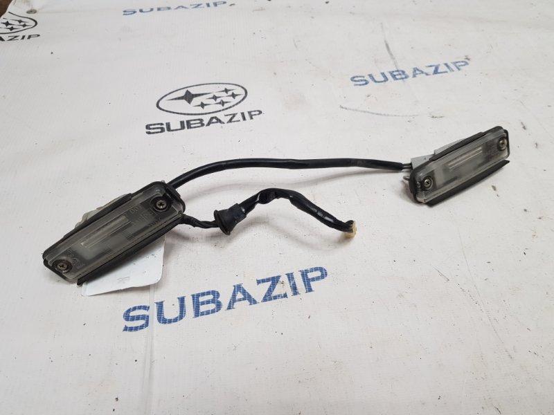 Фонарь подсветки номера Subaru Forester S11 2003