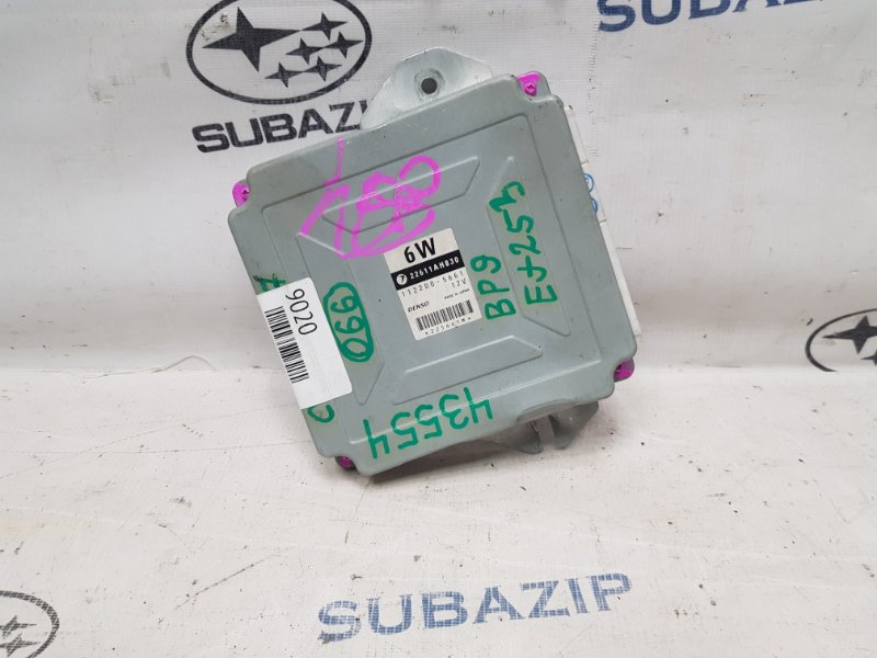 Блок управления двигателем Subaru Legacy B13 EJ253 2003