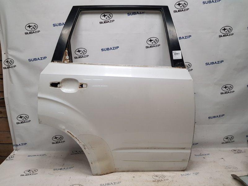 Дверь Subaru Forester S12 2007 задняя правая