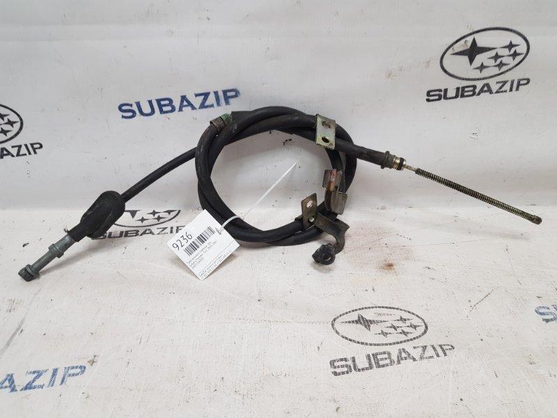 Трос ручного тормоза Subaru Forester S11 2003 левый