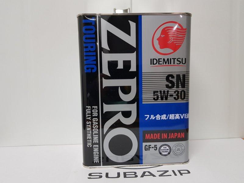 Масло моторное Subaru