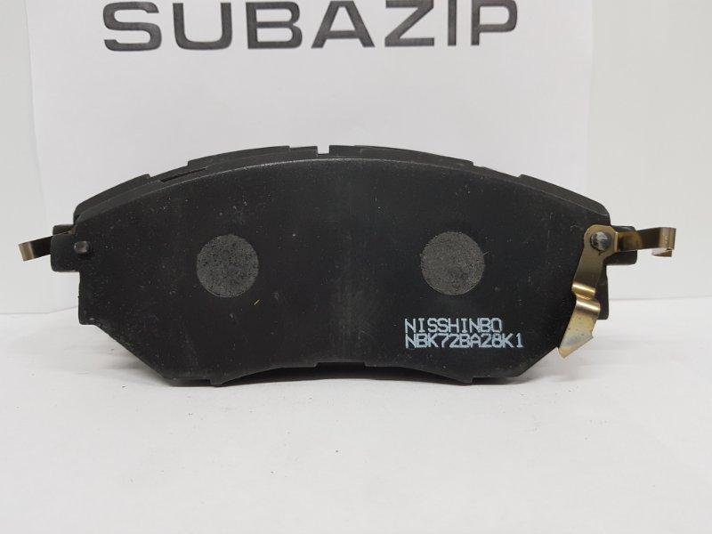 Тормозные колодки Subaru Forester S13 2003 переднее