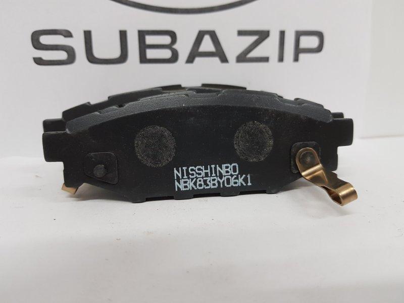 Тормозные колодки Subaru S12 заднее