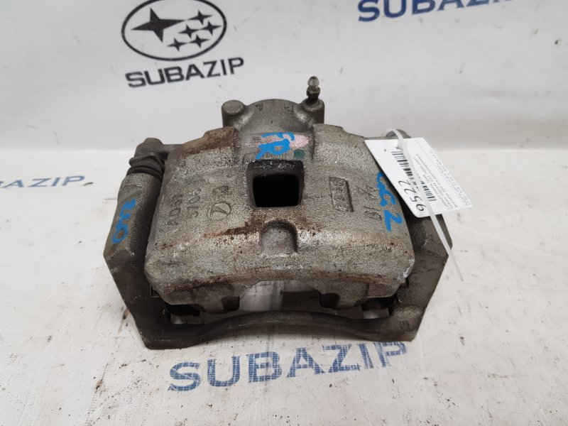 Суппорт тормозной Subaru Impreza G11 2005 передний правый