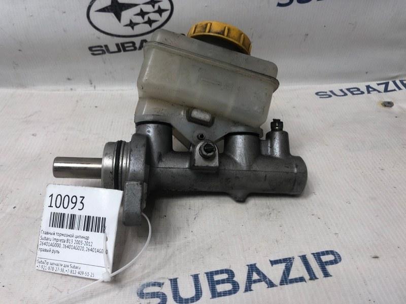Главный тормозной цилиндр Subaru Impreza B13 2003