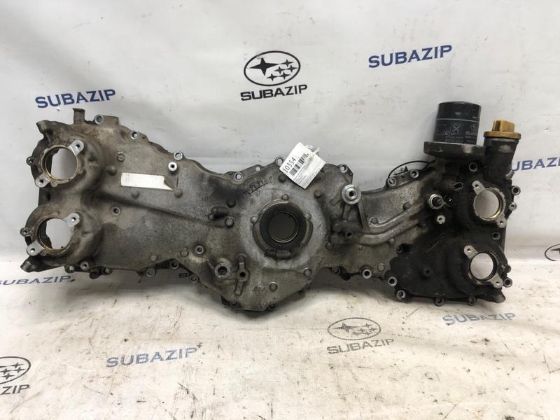 Крышка двигателя Subaru Forester S12 2012 передняя