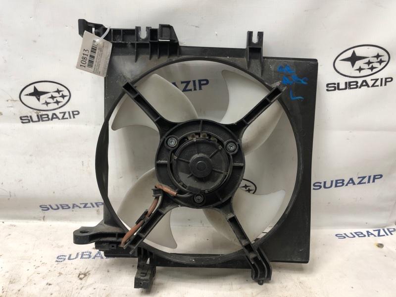 Диффузор с вентилятором Subaru Forester S12 2003 левый
