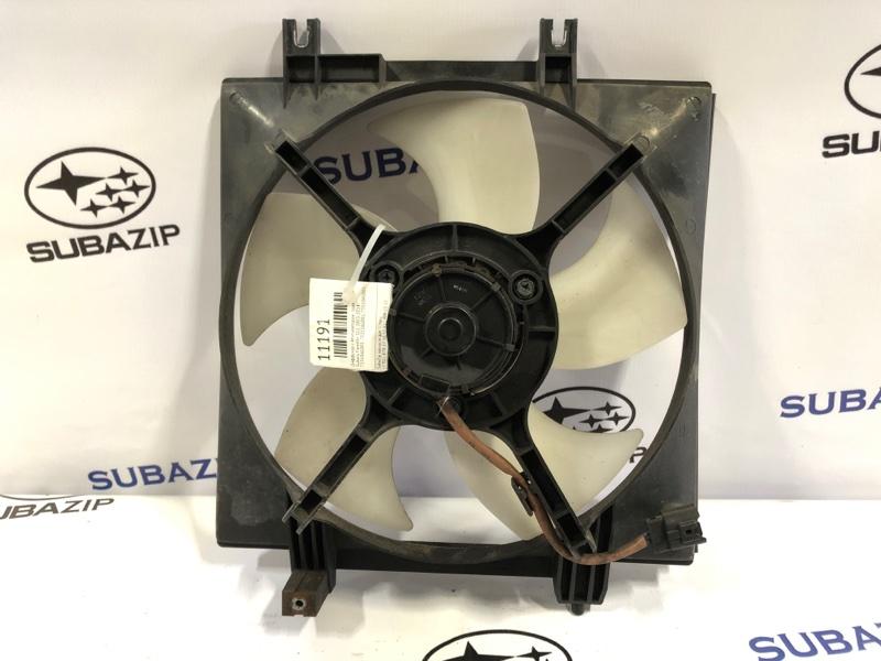 Диффузор с вентилятором Subaru Forester S12 2003 правый