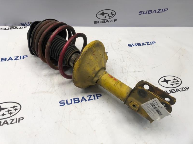 Стойка подвески Subaru Legacy B12 1998 передняя левая