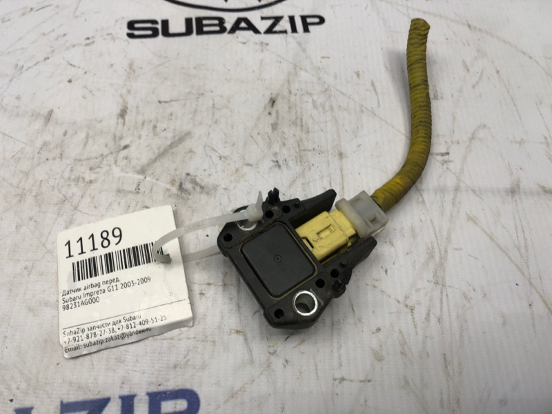 Датчик airbag Subaru Impreza G11 2003 передний