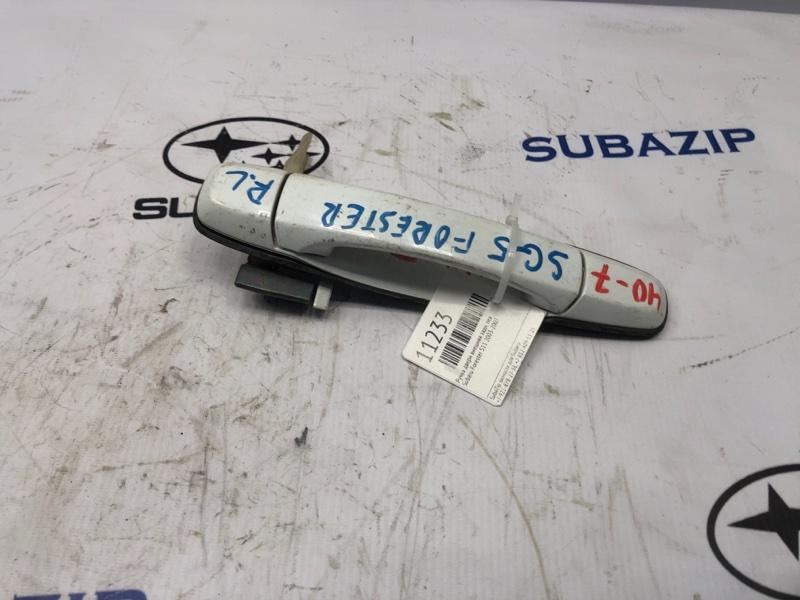 Ручка двери внешняя Subaru Forester S11 2003 задняя левая