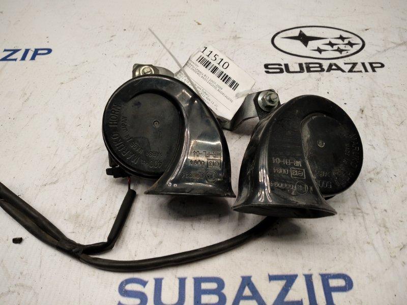 Клаксон Subaru Legacy B13 2007