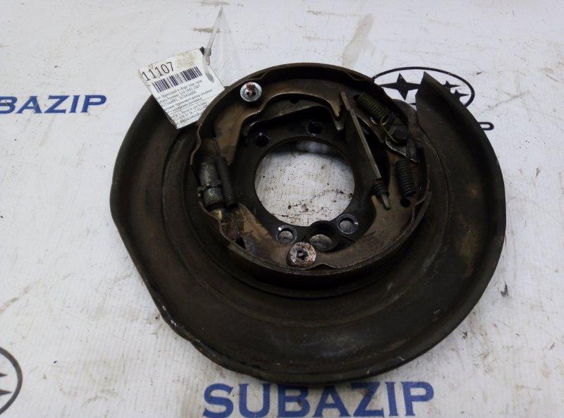 Щит тормозной в сборе Subaru Forester S10 1993 задний правый
