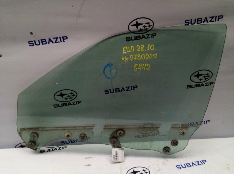 Стекло двери Subaru Impreza G11 2000 переднее левое