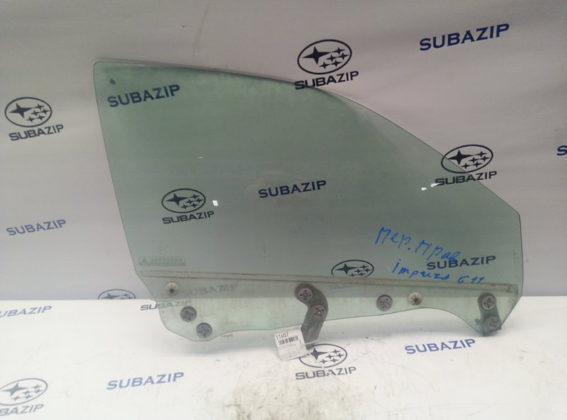 Стекло двери Subaru Impreza G11 2000 переднее правое