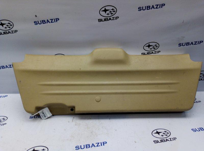 Обшивка двери багажника Subaru Forester S11 2005 нижняя