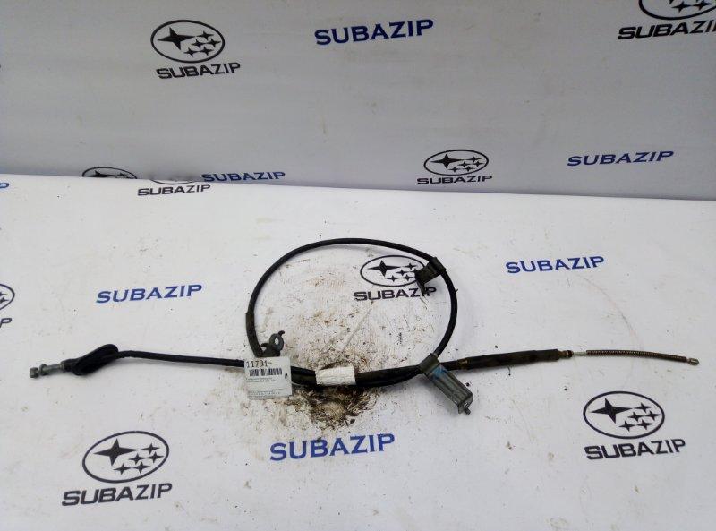 Трос ручного тормоза Subaru Legacy B13 2003 левый