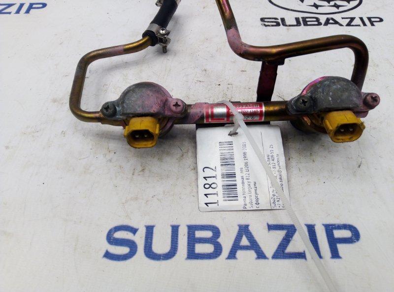 Рампа топливная Subaru Legacy B12 EJ206 1998 левая
