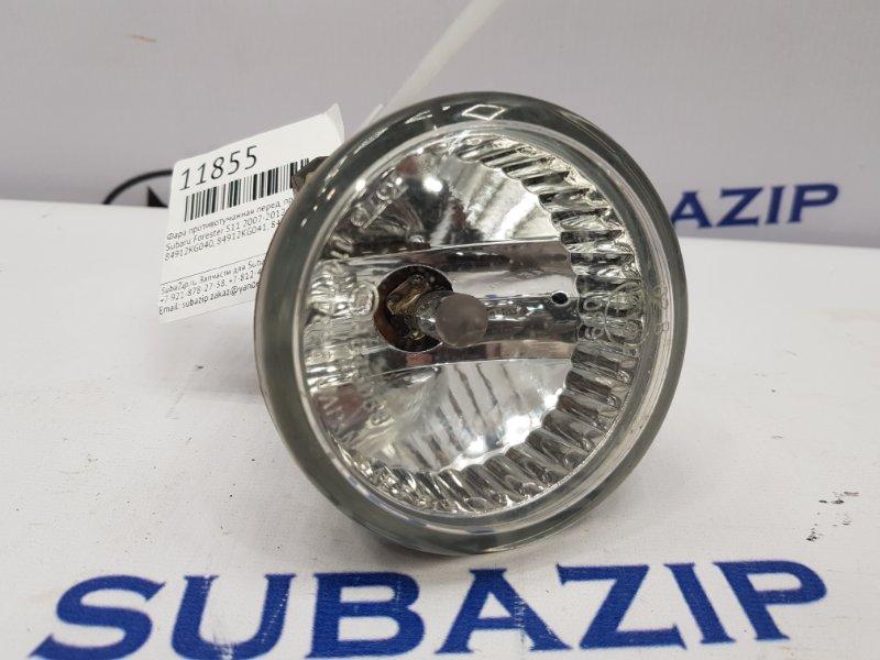 Фара противотуманная Subaru Forester S11 2007 передняя правая