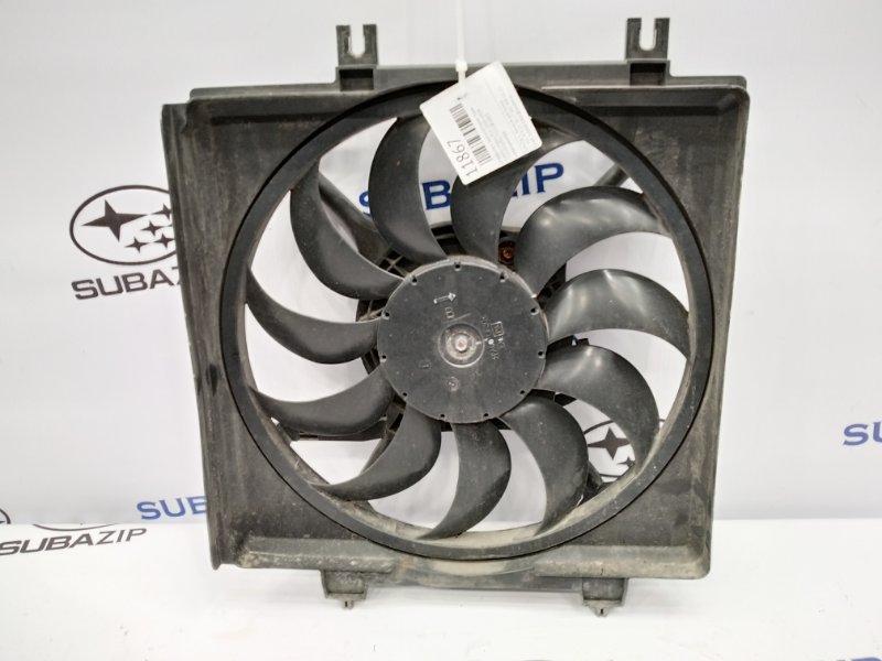 Диффузор с вентилятором Subaru Legacy B14 2009 правый