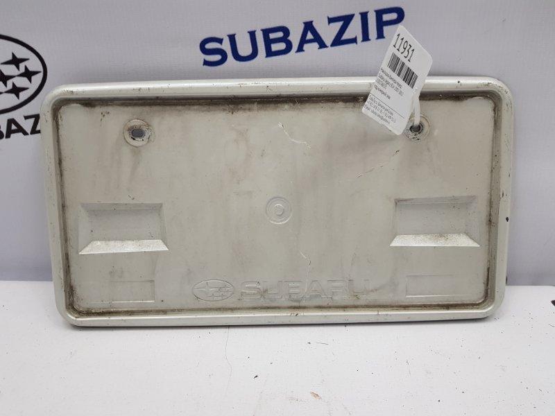 Накладка бампера Subaru Legacy B14 2007 передняя
