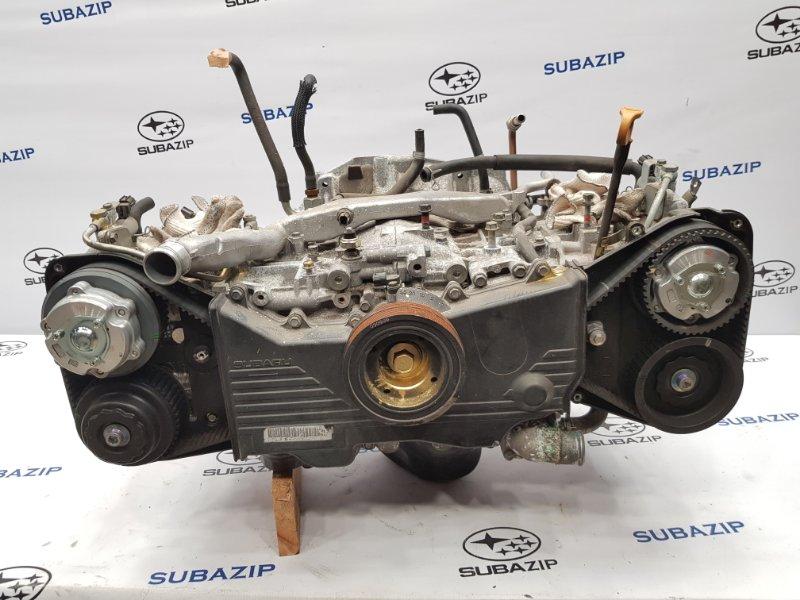 Двигатель Subaru Forester S11 EJ204 2005