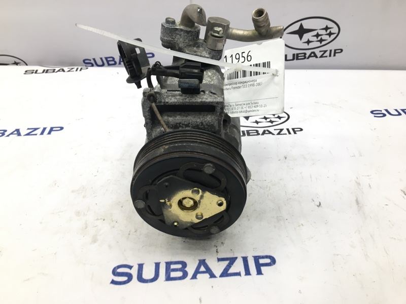 Компрессор кондиционера Subaru Forester S12 2005