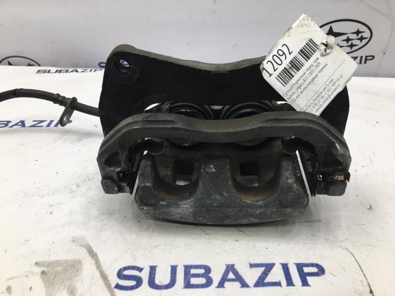Суппорт тормозной Subaru Forester S10 1988 передний правый