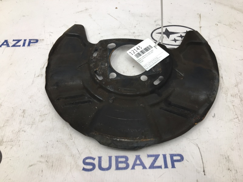 Пыльник тормозного диска Subaru Forester S10 1988 передний