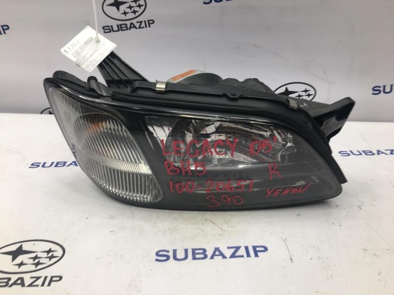 Фара Subaru Legacy B12 правая