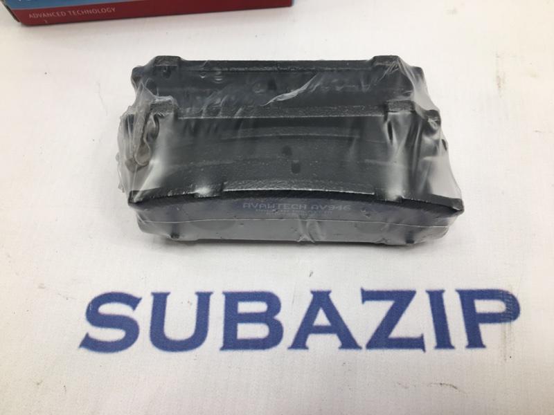 Тормозные колодки Subaru Forester S10 1994 заднее