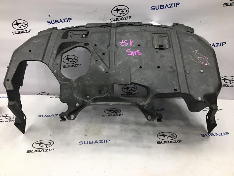 Защита двигателя Subaru Forester S12 EJ204 2008