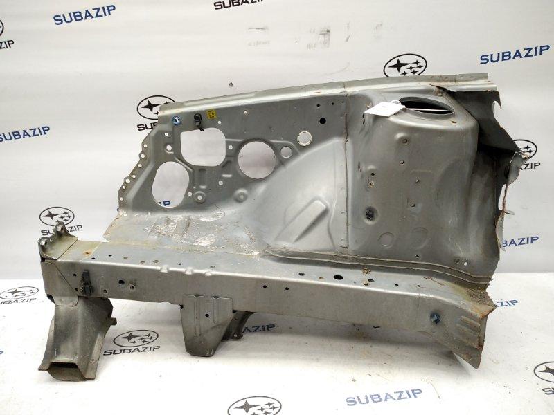 Лонжерон Subaru Forester SG5 2005 передний правый