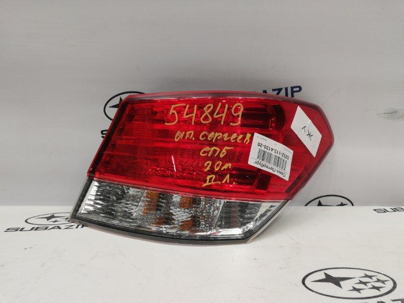 Фонарь Subaru Legacy B14 2009 правый