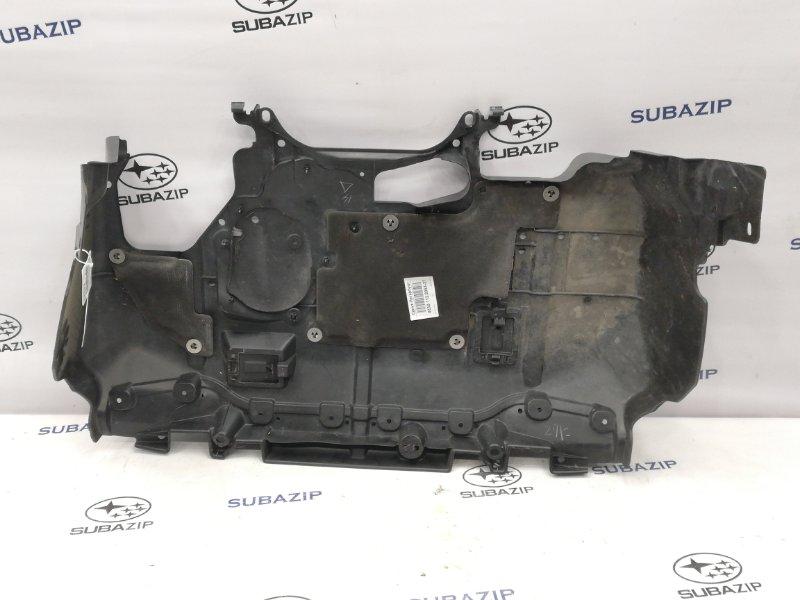 Защита двигателя Subaru Forester S12 EJ204 передняя