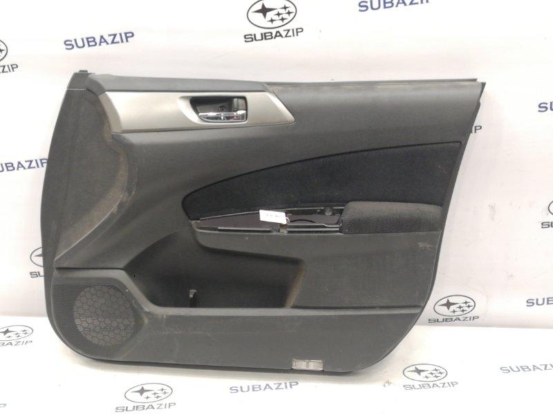 Обшивка двери Subaru Forester S12 передняя правая