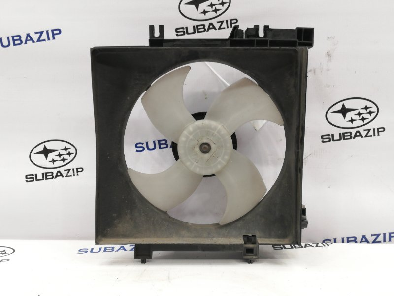 Диффузор с вентилятором Subaru Forester S12 левый