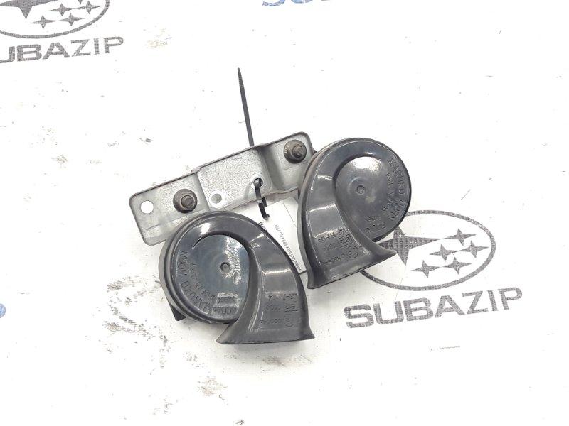 Клаксон Subaru Legacy B13 передний