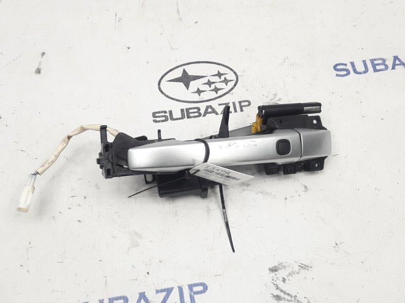Ручка двери внешняя Subaru Forester S12 2008 передняя левая