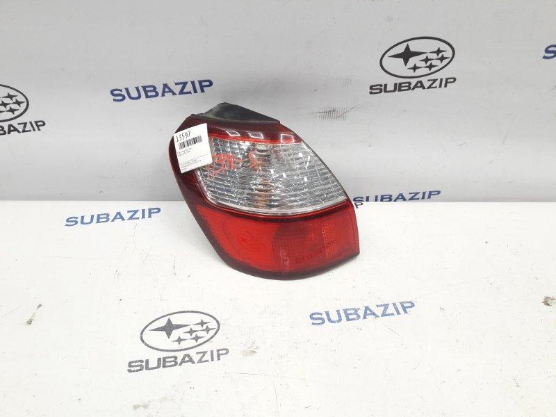 Фонарь Subaru Legacy B12 1998 задний левый