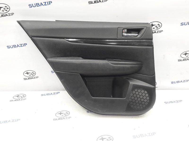 Обшивка двери Subaru Legacy B14 2009 задняя левая