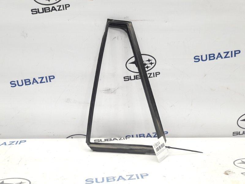 Уплотнитель стекла Subaru Legacy B14 2009 задний левый