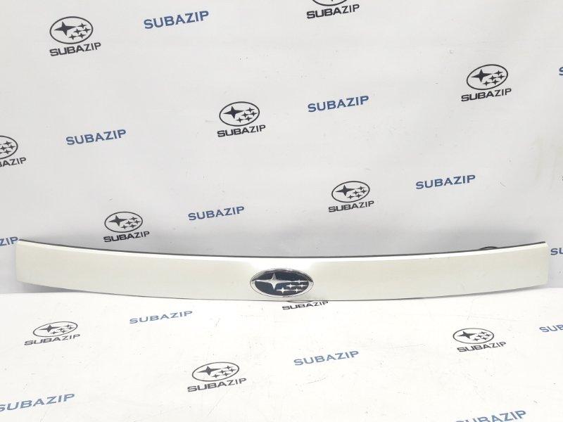 Накладка двери багажника Subaru Forester S12 EJ204 2009 задняя верхняя