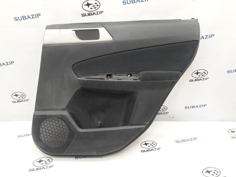 Обшивка двери Subaru Forester S12 EJ204 2009 задняя правая