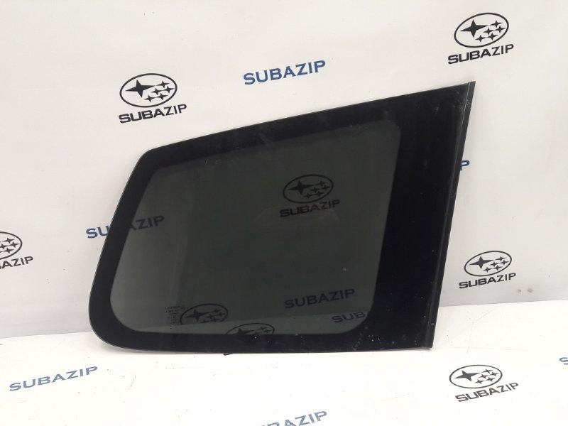 Стекло кузова глухое Subaru Forester S12 EJ204 2009 заднее правое