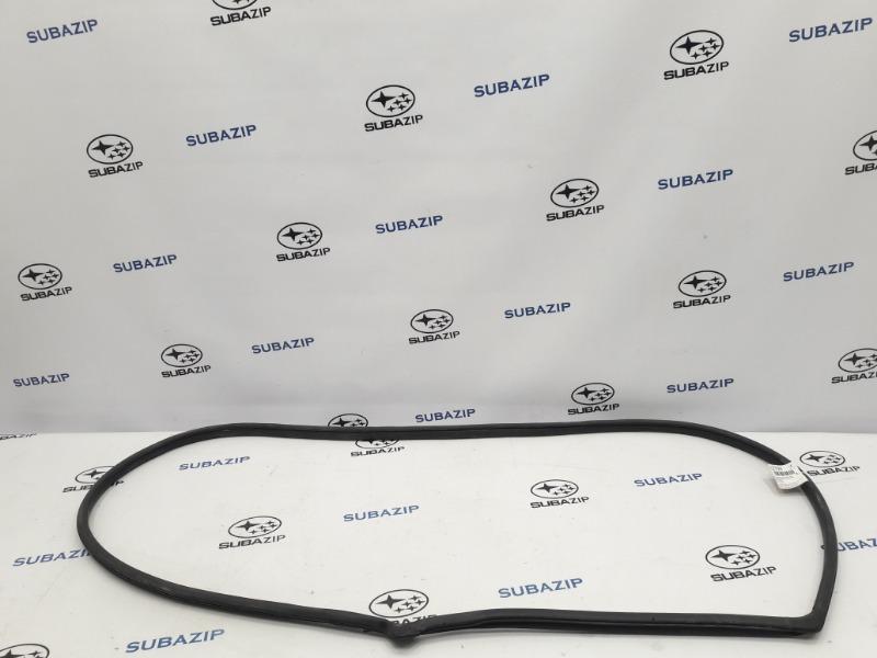 Уплотнитель стекла Subaru Forester S12 EJ204 2009 задний правый