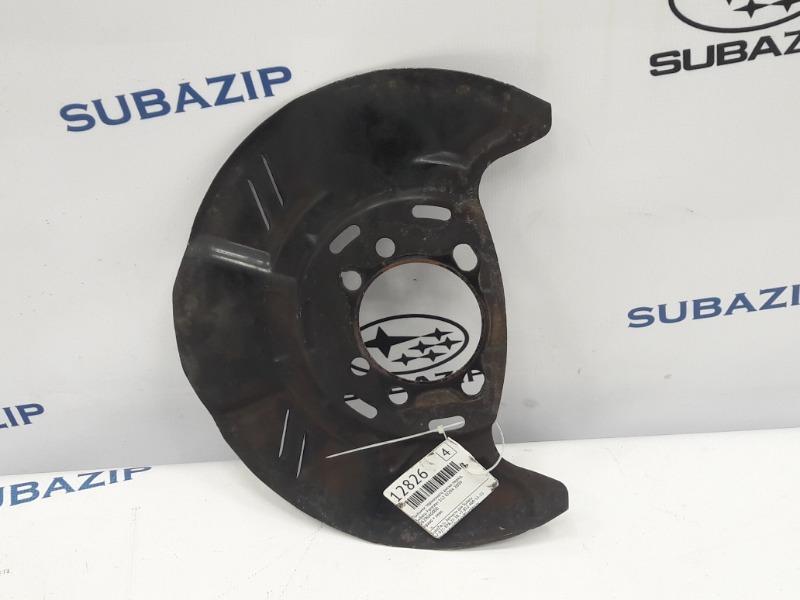 Пыльник тормозного диска Subaru Forester S12 EJ204 2009 передний