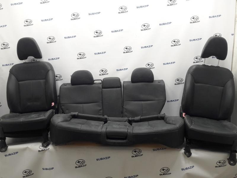 Салон Subaru Forester S12 EJ204 2009