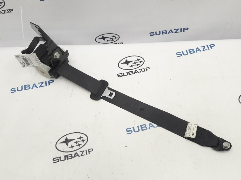 Ремень безопасности Subaru Forester S12 EJ204 2009 задний левый